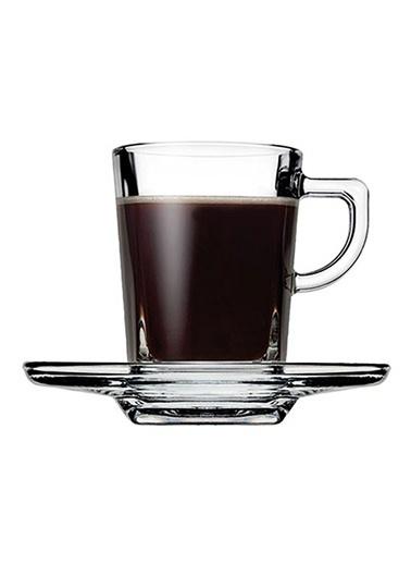 Paşabahçe 6 Lı Carre Espresso Fincan Takımı Renksiz